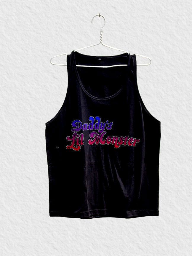 harley quinn daddy lil monster tank top unisex for men or women margot robbie  #Unbranded #TankTop
