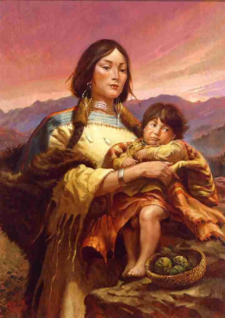 an overview of the life of sacagawea a shoshone indian Summary: (early life) sacagawea was born into a shoshone indian tribeshe had 2 known brothers and 1 sister, her older brother's name was cameahwait sacagawea didn't have a proper education, but she learned from her tribes.