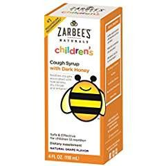 ZARBEE'S CHILD COUGH SYR GRAPE 4 OZ PACK OF 2