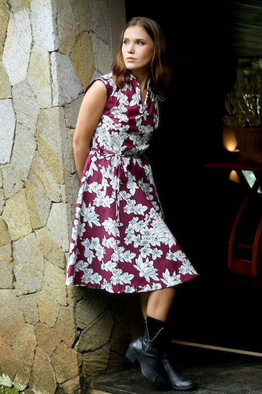 Connie Dress - Blossom Print