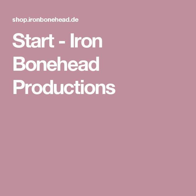 Start - Iron Bonehead Productions