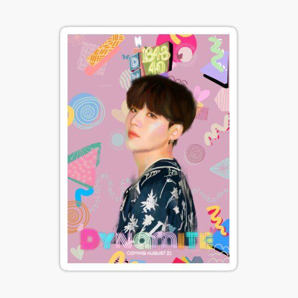 Dynamite Joon Sticker By Lunaggukk In 2020 Stickers Photo Cards Vinyl Sticker