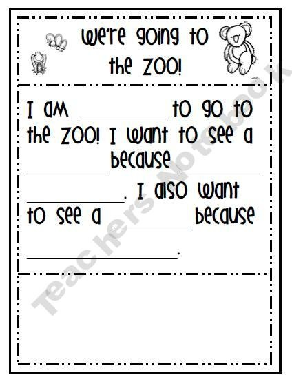 zoo freebie using this week before our field trip to the zoo kids pinterest trips. Black Bedroom Furniture Sets. Home Design Ideas