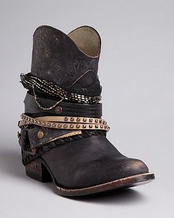 FREEBIRD by Steven Western Boots - Mezcal Strapped | Bloomingdale's