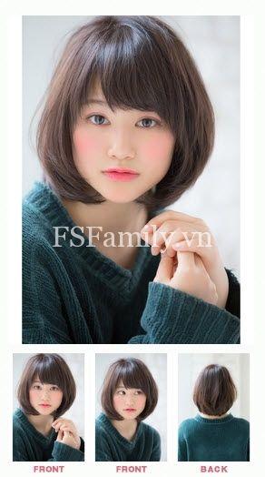 100+ Mẫu tóc ngắn đẹp xinh xắn style Hàn Quốc