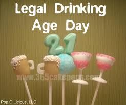 Legal drinking age today's date