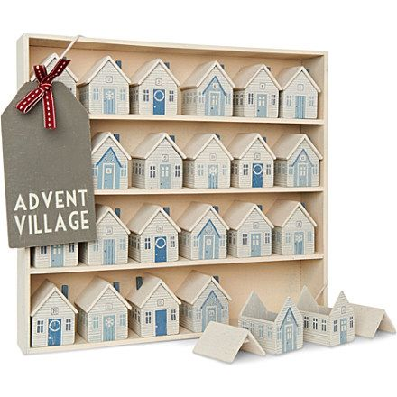 Not seen one of these before. This is a great wooden Advent calendar
