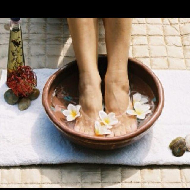 Homemade foot soak (recepies)