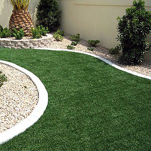 Artificial Grass Garden Designs square off the front curve line of the front garden j Pregra Premium Artificial Grass Special Order Alpha Order By The Fake Grassgarden Landscapinglandscaping