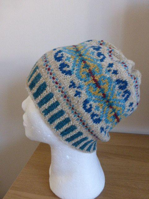 9 best Жаккардовые шапки, береты images on Pinterest | Fair isle ...