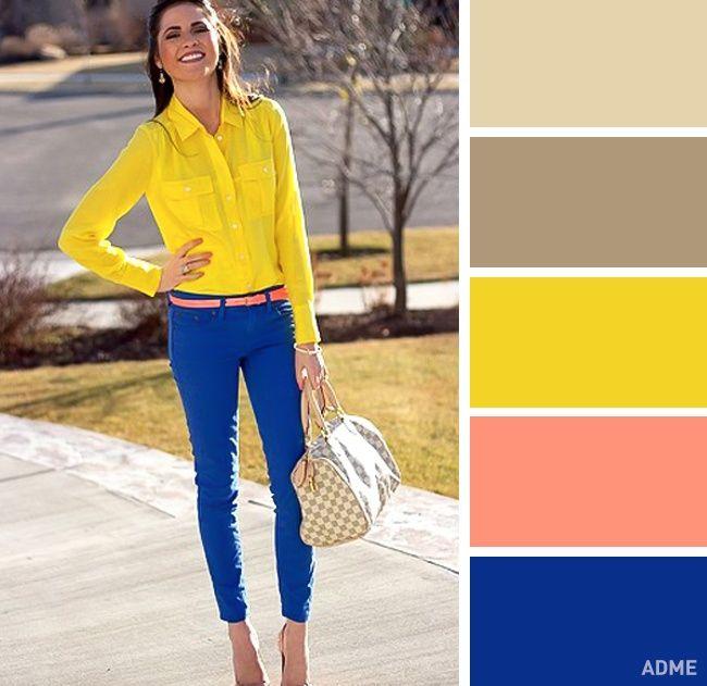 Мобильный LiveInternet 12 идеальных цветовых сочетаний в одежде для весны | Konstancia - Здесь еще интересней |