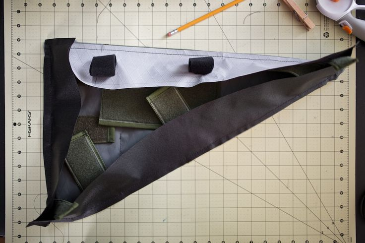 The frame bag is the most basic piece of bike luggage; here's how to plan, design, and construct a simple frame bag for bikepackng and bike touring...
