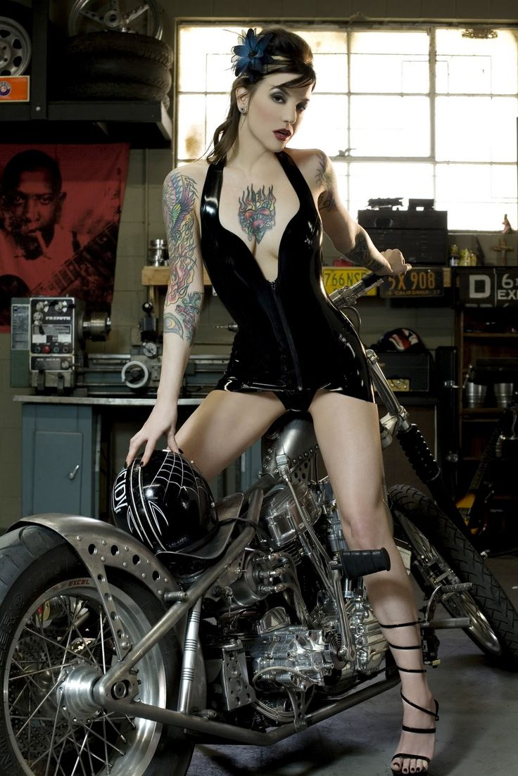 295 best images about rides pinups on pinterest for Hot tattooed babes