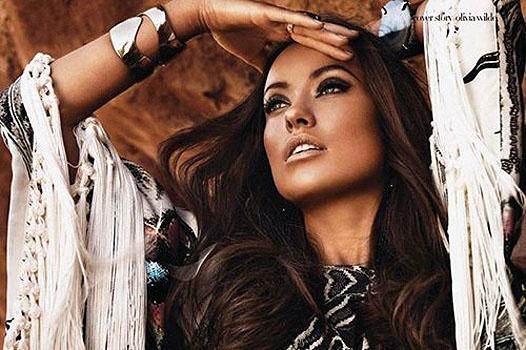Восточные сказки: Оливия Уайлд в фотосессии для Emirates Woman