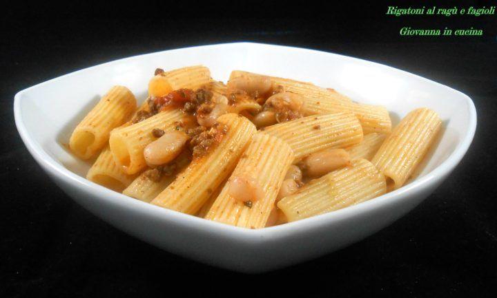 Rigatoni al ragù e fagioli, senza sale, cuore amiata, giovanna in cucina