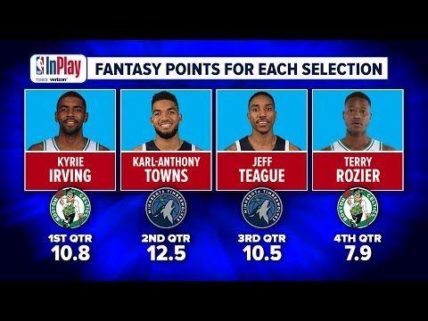 Fantasy Basketball 2018: Minnesota Timberwolves vs. Boston Celtics Preview | NBA InPlay