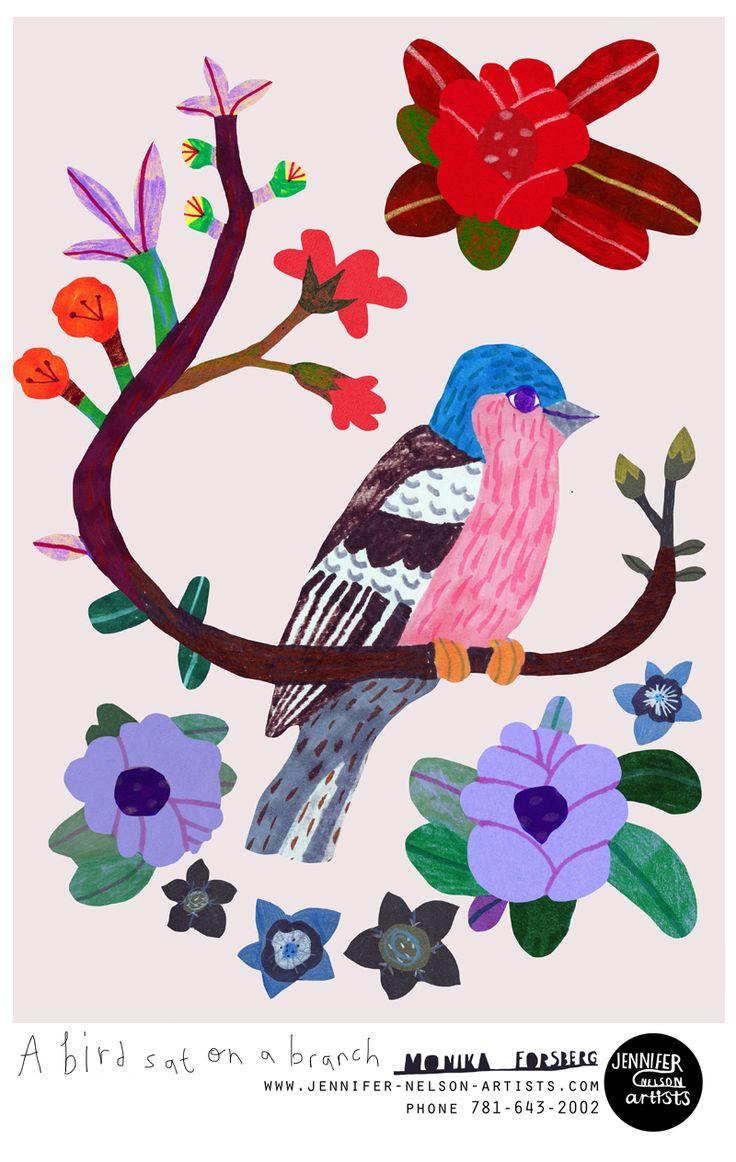 Coloring book kea - Coyote Atelier Illustration Inspiration Monika Forsberg