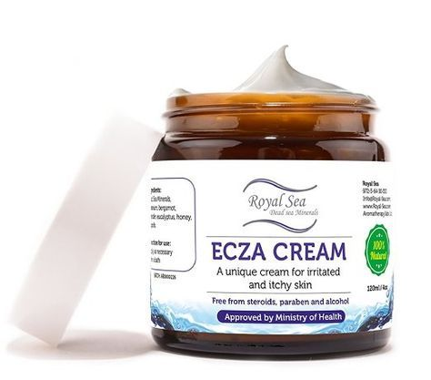 Amazon.com : Royal Dead Sea Natural Eczema Treatment Anti Itch Cream [4oz] Atopic Dermatitis, Keratosis Pilaris, Skin Fungus Light Therapy Relief for Face, Sound Eyes, Hand and Dry Skin. Suitable for Baby Kids and Adults : Beauty. Natural Eczema Cream: Fo