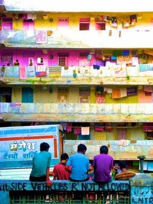 Mumbai Slum © Newman Photography