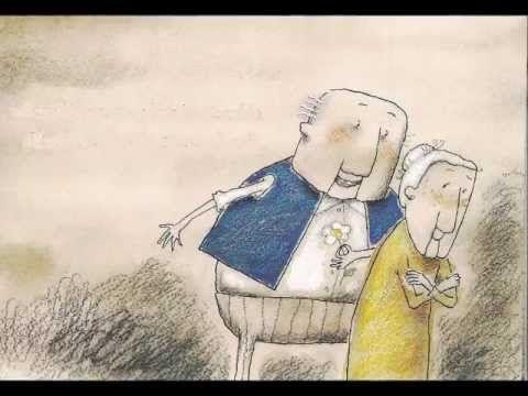 Este cuento nos presenta la tierna historia de Manuela y Manuel, dos abuelitos entrañables que nos muestran con sus diálogos el paso de los años desde el punto de vista del realismo, el optimismo y el cariño.