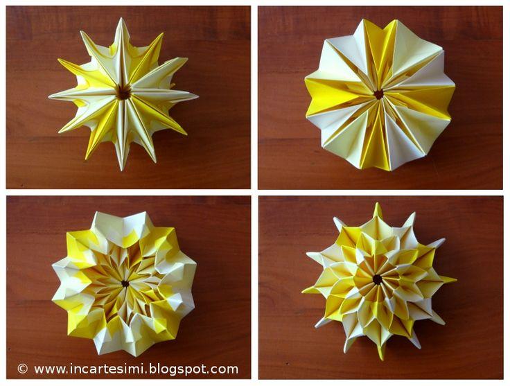 fiori di carta semplici e veloci -