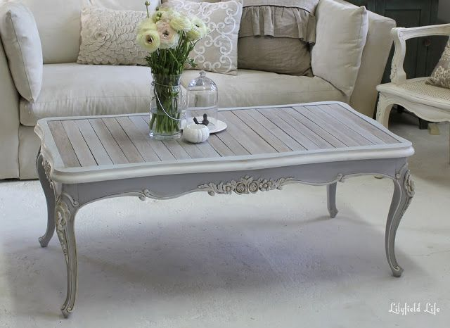 Lilyfield life French Provincial coffee table for sale