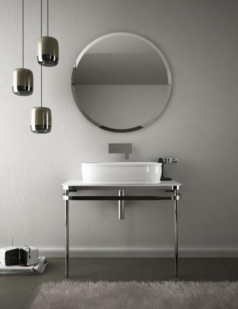Azuley, design Meneghello Paolelli Associati. Collezione bagno di lavabi e sanitari /Bathroom collection of washbasins and sanitary ware. #bathroom #consolle #washbasin #lavabo #bagno #artceram