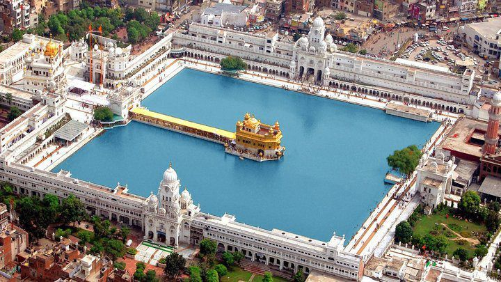 Punjab India Golden Temple Harmandir Sahib In Amritsar Punjab India Sunsurfer