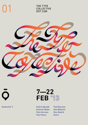 Flyer Goodness: Type by The Type Collective