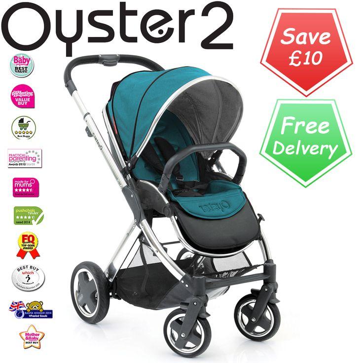 Babystyle Oyster 2 Vogue Stroller Teal