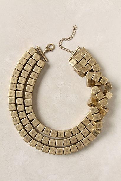 Triple Prism Necklace