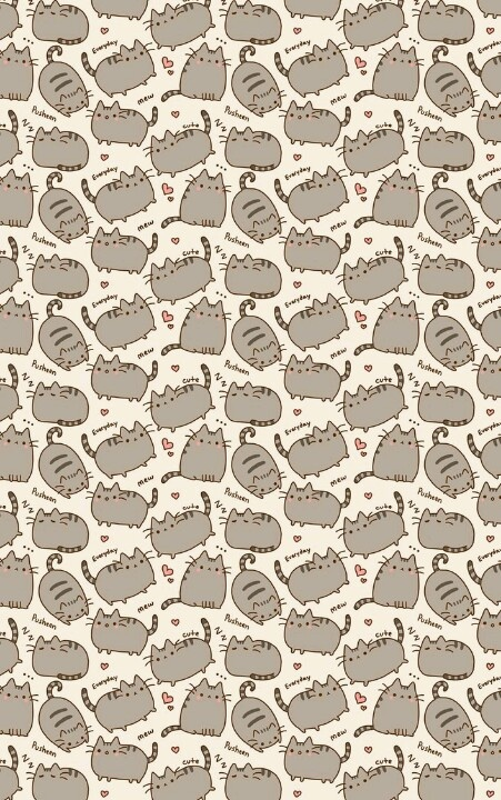 : Cat Pattern, Prints Patterns, Cat Craves, Pusheen Pattern, Cats