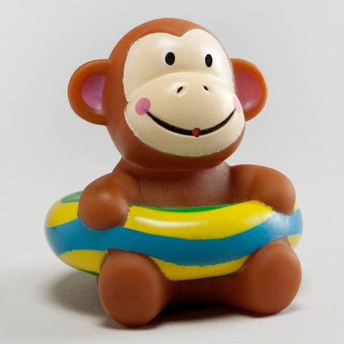 One of my favorite discoveries at WorldMarket.com: Monkey Squirter Bath Toy