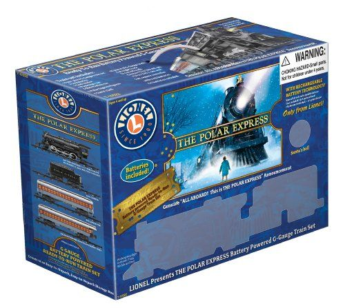 Amazon.com: Lionel Polar Express Train Set - G-Gauge: Toys & Games