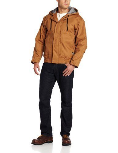 """Famous Words of Inspiration...""""First say to yourself what you would be; and then do what you have to do.""""   Epictetus — Click here for more from...  More details at https://jackets-lovers.bestselleroutlets.com/mens-jackets-coats/work-wear/product-review-for-berne-mens-big-tall-flame-resistant-hooded-jacket/"""