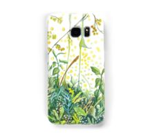 Watercolor wildflowers samsung galaxy case/skin by Alicja August