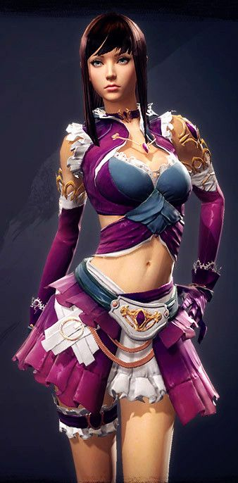Guild Wars 2: Starting Light Armor(1)_红番茄 - 美丽鸟