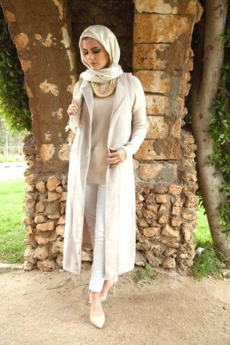 hijab white outfit, 27dresses winter collection 2016…
