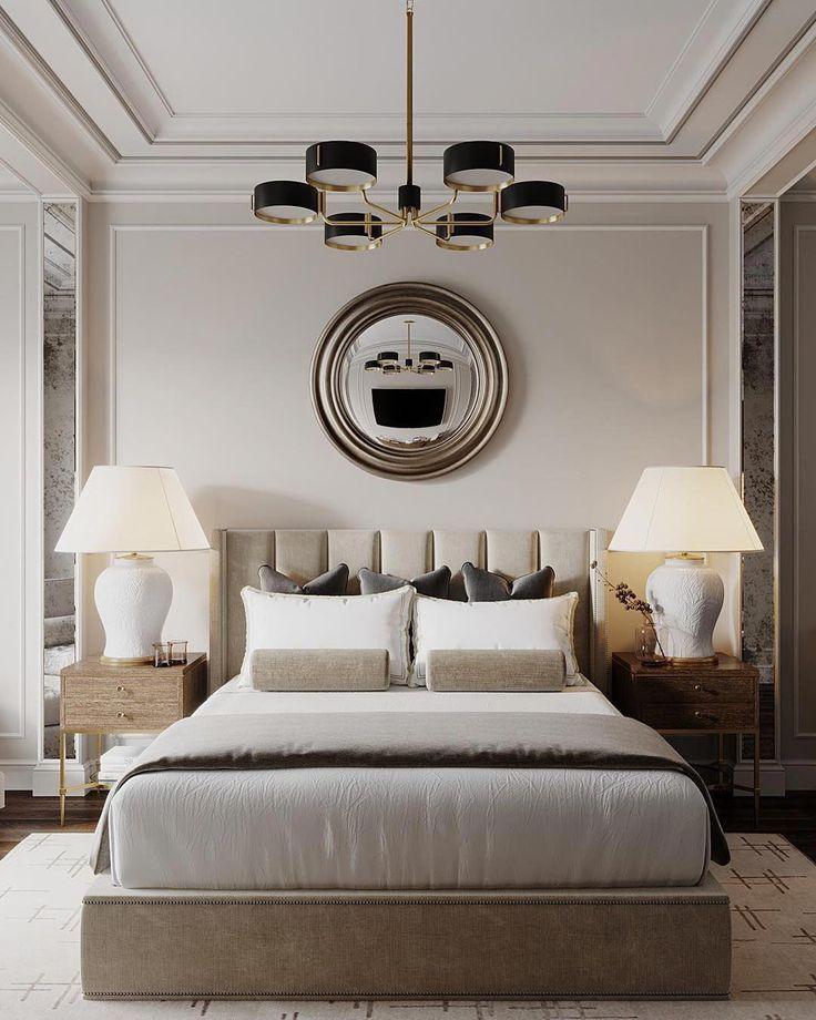 Luxus Schlafzimmer Luxus Glamwohnzimmerdekor Glam Wohnzimmer Dekor Luxusschlafzimmer Glam Wohnzimmer Wohnen