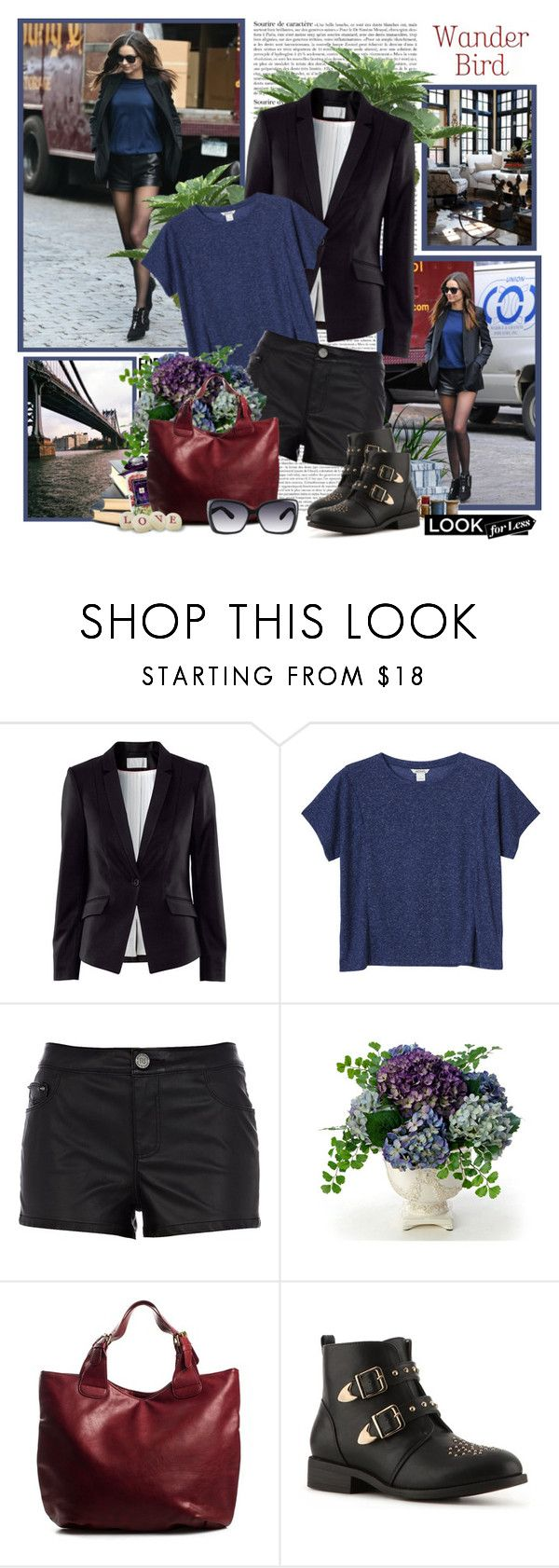 """Look for less - Miranda Kerr"" by helleka ❤ liked on Polyvore featuring Emma Watson, Prada, Kerr®, H&M, Monki, River Island, Distinctive Designs, Jo Malone, Pieces and Wanted"