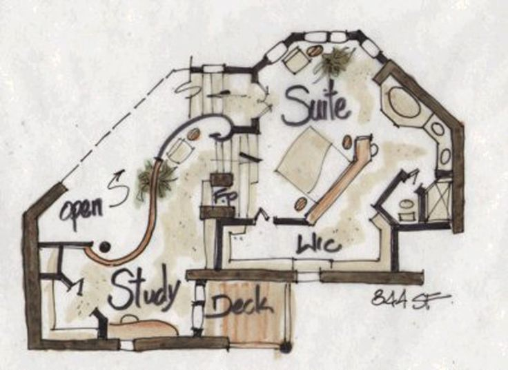 37 best house plans images on pinterest home plans kitchen and architecture Master bedroom plan dwg