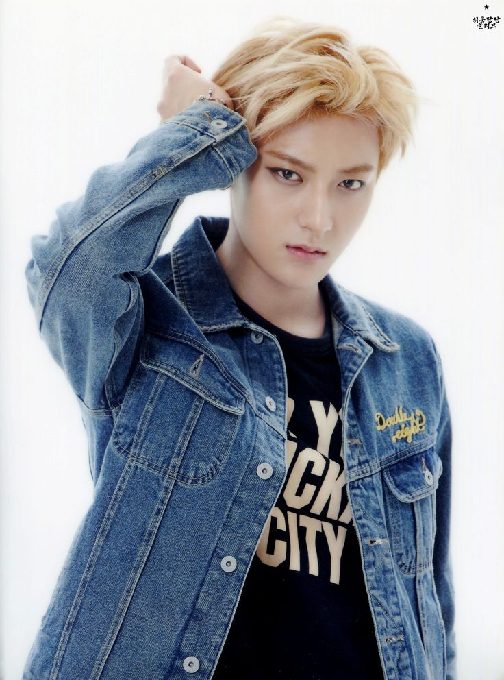 TAO ♡ #EXO // SMTOWN GOODS. Woah he looks really different here to me.