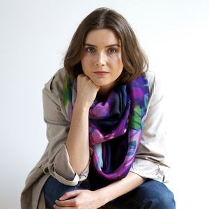 Charisma Cashmere Scarf - www.squeakdesign.com
