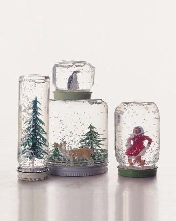 Hacer Una Bola De Nieve Para Navidad