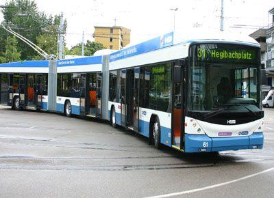 Carrosserie Hess AG - LighTram bi-articulated bus