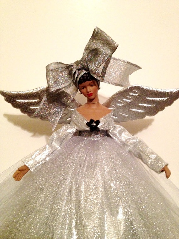 1000 images about angels on pinterest christmas angels - Black Christmas Angels