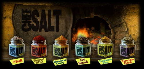 Chef Salt, Your Gourmet Salts! Perfect for my cooking friends. These salts make anything taste delicious!!