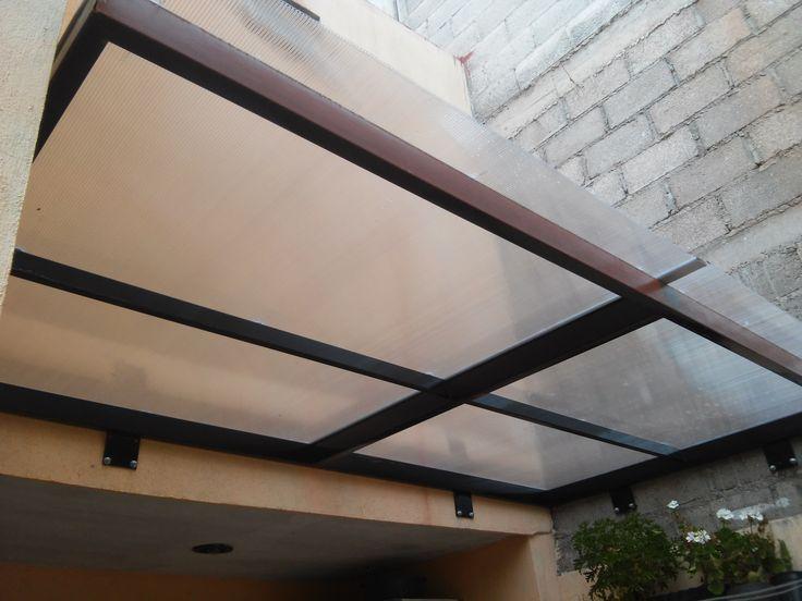 Domo de policarbonato lomas del convento mis trabajos for Techos para patios exteriores