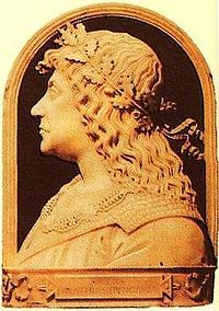 Matthias Corvinus, also Matthias I (1443 – 1490), was King of Hungary. During his reign, Matthias reduced the power of the feudal lords, and ruled instead with a cadre of talented and highly educated individuals, chosen for their abilities rather than their social status. With his patronage Hungary became the first European country which adopted the Renaissance from Italy. He established educational institutions, patronized art and science, and introduced a new legal system in Hungary