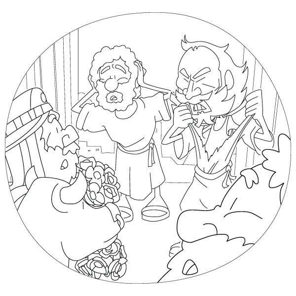 paul journeys coloring pages - photo#33